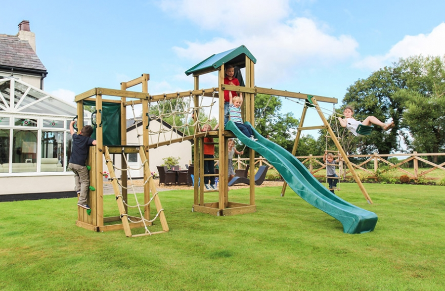 orchard child 39 s climbing frame wooden climbing frames uk. Black Bedroom Furniture Sets. Home Design Ideas